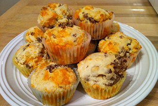 sausaage muffins